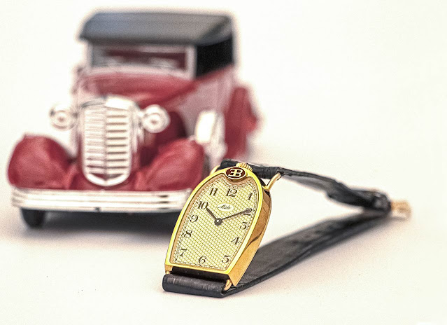An example of Mido watch created for Bugatti