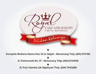Info Lowongan Pekerjaan Royal Cake & Bakery Hamka Semarang