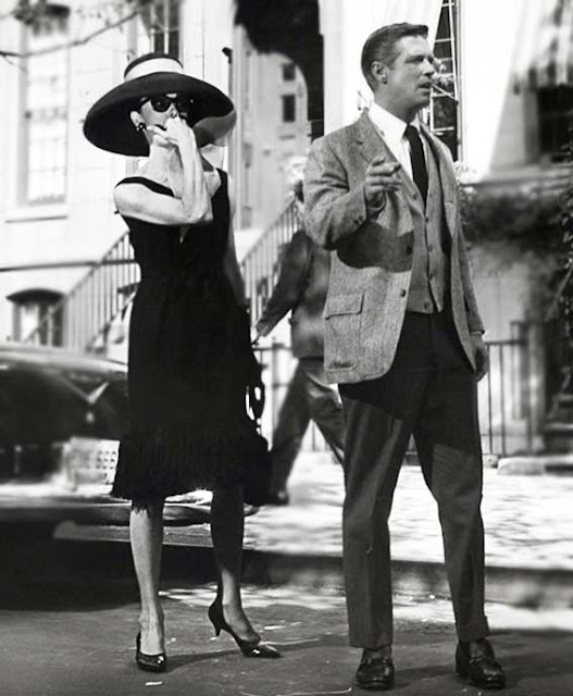 Audrey Hepburn e George Peppard