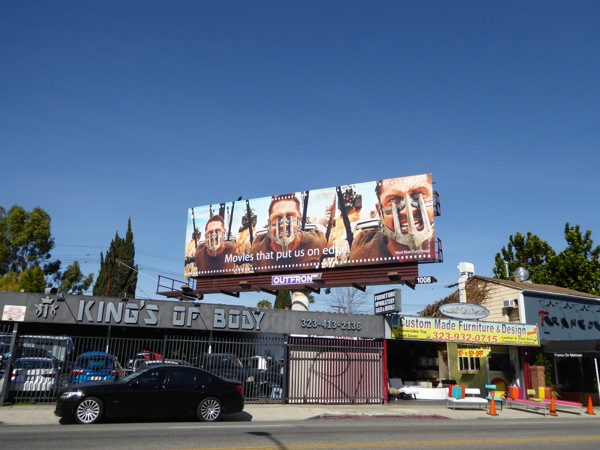 Mad Max iTunes billboard