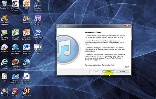 iTunes PC