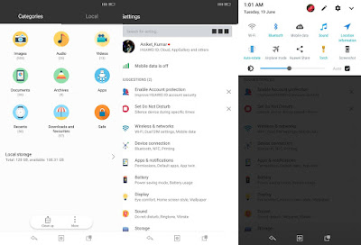 Download CLAY THEME  for Huawei Emui 5