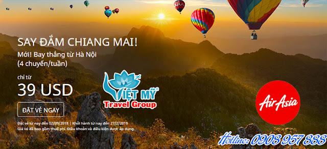 Khuyến Mãi Air Asia Say đắm Chiang Mai