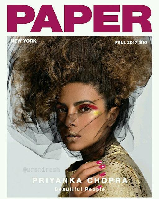 Priyanka Chopra poses for Paper Magazine Photoshoot 2017
