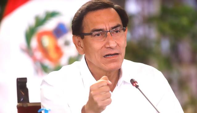 Presidente Vizcarra sobre vacancia
