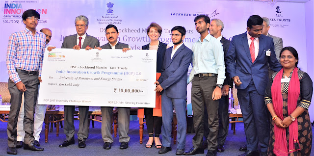 UPES students win innovation challenge at IIGP 2.0; receive 20 lakhs to develop prototypes