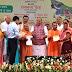 जमीन पर उतरा कर्जमाफी का वादा,योगी ने 7500 किसानों को दिये प्रमाणपत्र