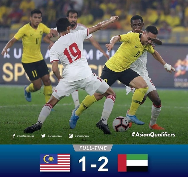 Malaysia vs Uni Emirat Arab - IGsemuatentangsepakbola.id