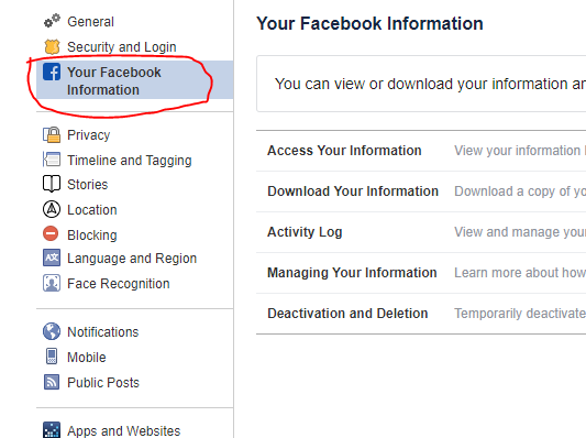 how to delete facebook account easy step by step