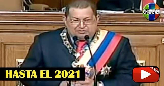 La Profecía de Chavez hasta el 2021 se cumplirá?