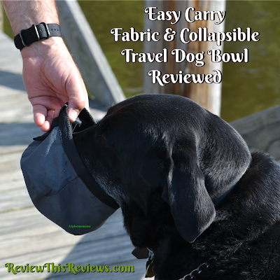 Easy Carry Fabric & Collapsible Travel Dog Bowl Reviewed
