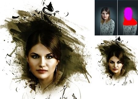 Typo portraitpro photoshop action free