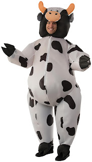 Women's Cow Inflatable Adult Costume