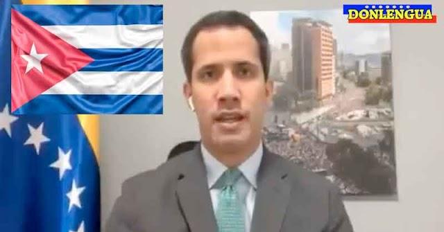 Juan Guaidó participó en un evento por la Liberta de Cuba llamado Patria y Vida