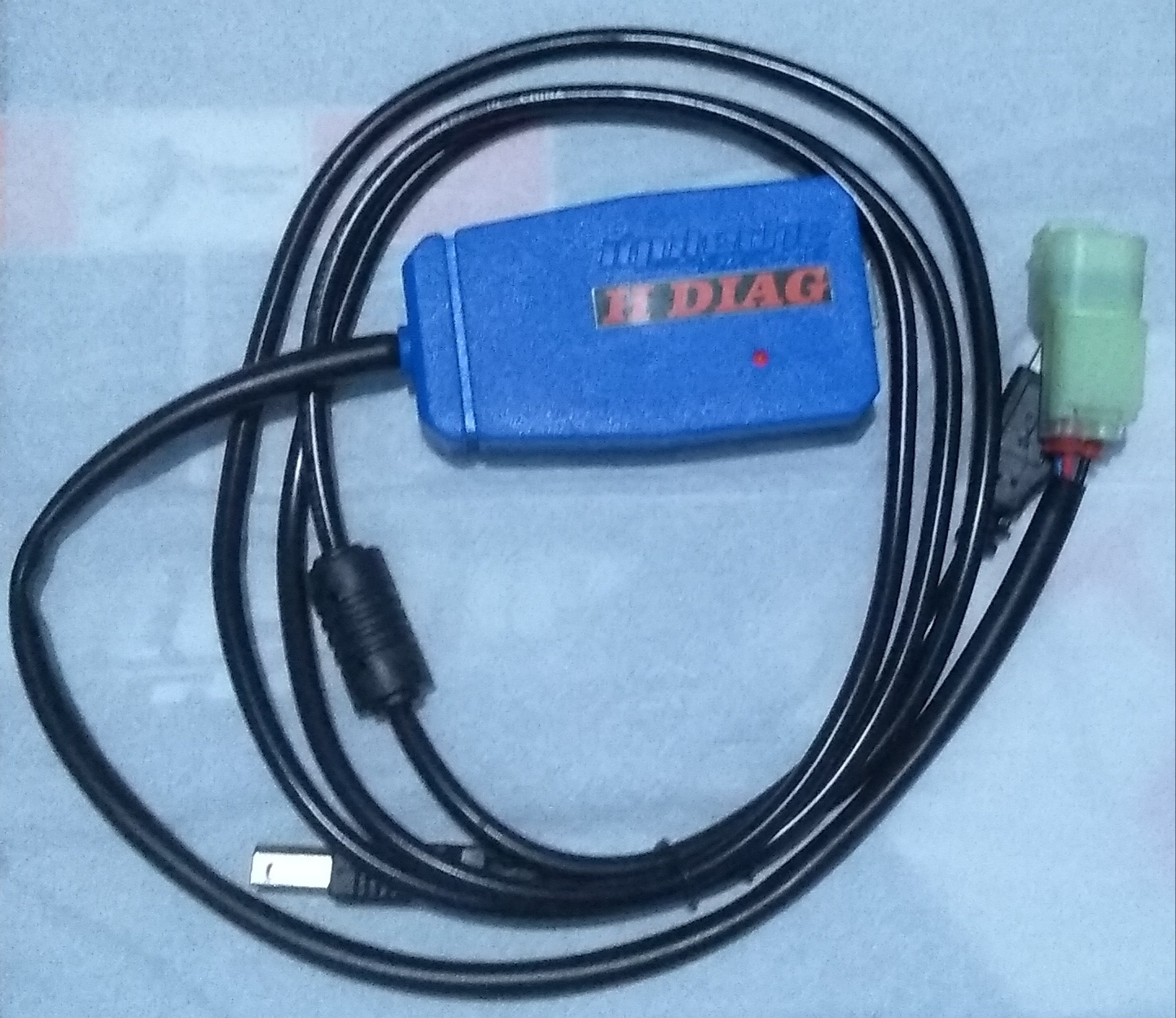 FREE H-DIAG Diagnostic Tool untuk Sepeda Motor Honda (Iquteche Racing)