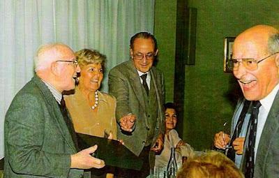 Argüelles, Sra. América de Salazar, F.Salazar, Sra. Regina de Petite y Manuel Muñoz