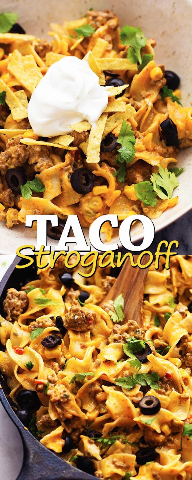 TACO STROGANOFF