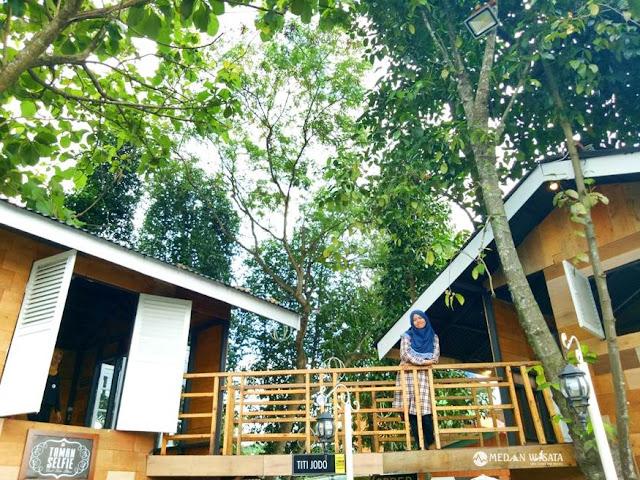 Taman Selfie Binjai : Cafe dengan Konsep Kekinian untuk Berselfie