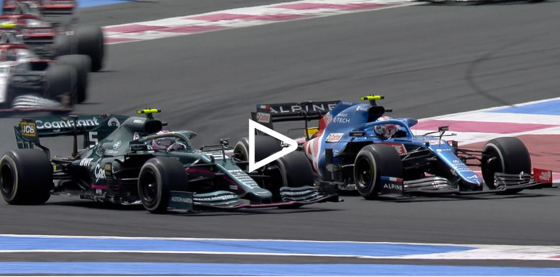 Vettel diz que estava a algumas voltas da luta por P6, após estender os pontos disputados na França