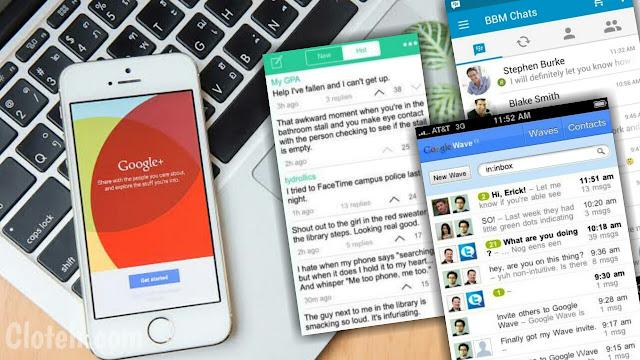 Aplikasi Gagal dan Tutup, Produk Google terbanyak!