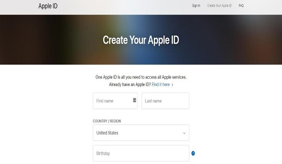 Apple ID How to Create an Apple ID on Mac