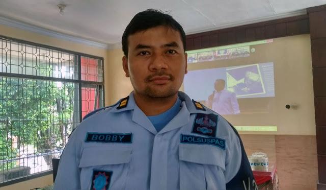 Kepala Pengamanan Lapas Klas IIB Lumajang, Bobby Cahya Permana