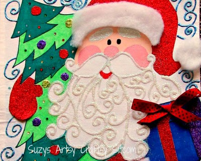 This craft Santa Advent is a cute way to countdown to the holidays