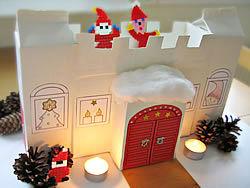 Kuva: Jouluaskartelu lapsille - tonttulinna