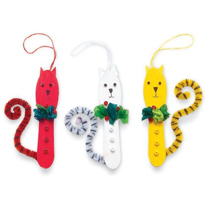 Colorful Christmas Cats