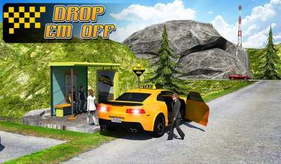 Some Screenshots of Taxi Driver 3D : Hill Station Mod Apk Latest Version For Android