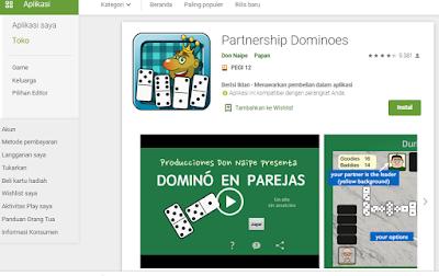 Partnership Dominoes Game Domino yang Terbaru