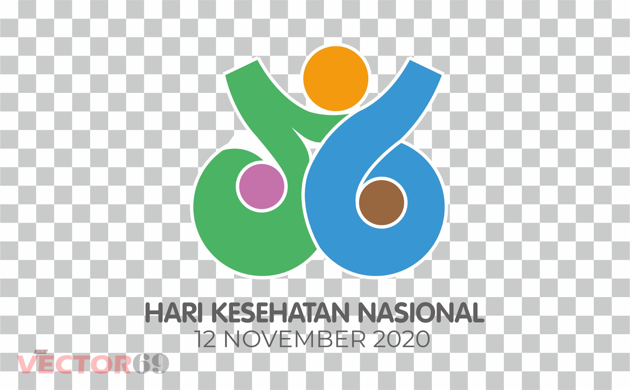 HKN (Hari Kesehatan Nasional) 2020 Logo - Download Vector File PNG (Portable Network Graphics)