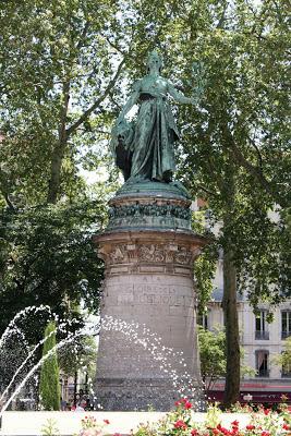 statue république carnot perrache - visite guidée de Lyon - Nicolas Bruno Jacquet
