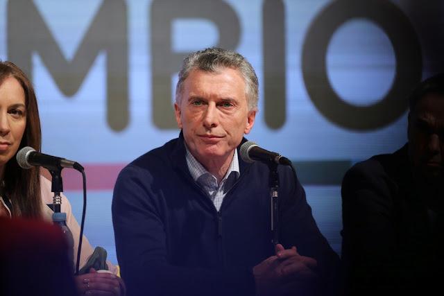 Maurícuio Macri, derrotado em segundo lugar