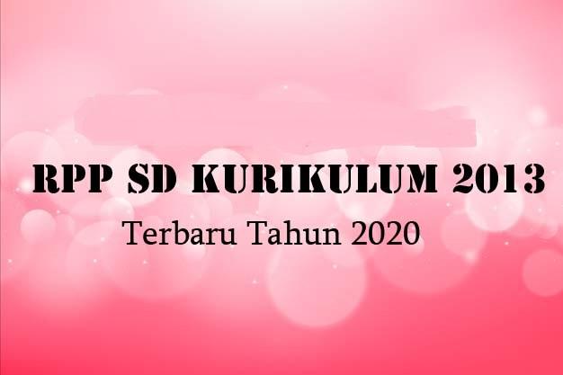 RPP SD 2020
