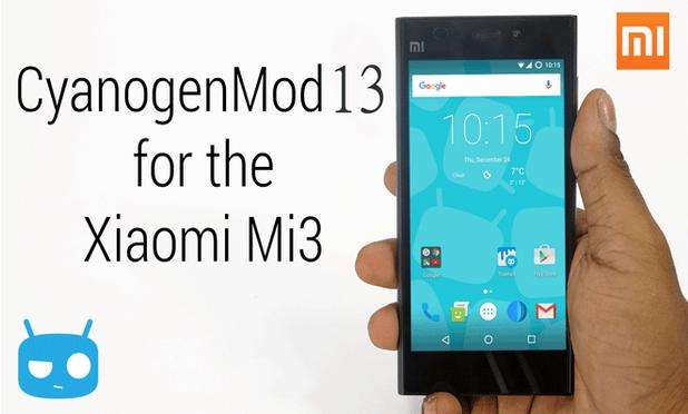 Custom Rom CyanogenMod 13 (cancro) For Xiaomi Mi3/Mi4