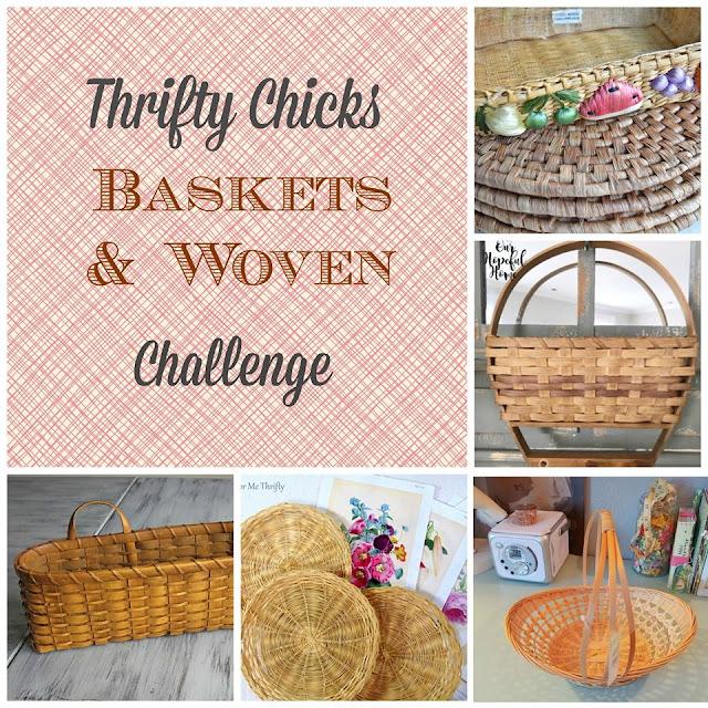 Thrifty Chicks Basket Challenge