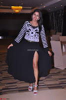 Akshatha in a lovely Leg Split Black Gown Cross legged Latest Stills 17.JPG