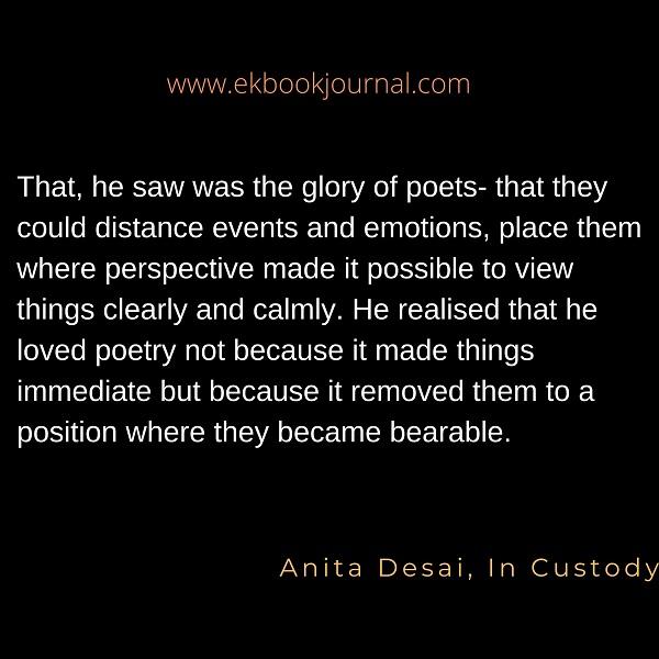 Anita Desai Quote