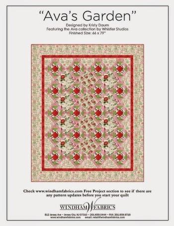 AVA'S GARDEN Quilt Pattern