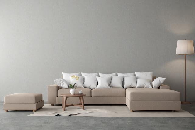 Bộ ghế sofa vải phù hợp với phong cách sáng