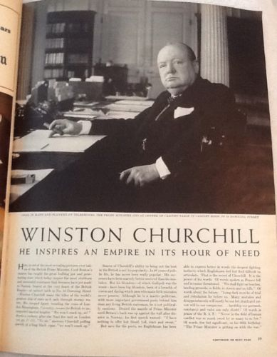 27 January 1941 worldwartwo.filminspector.com Winston Churchill Life Magazine