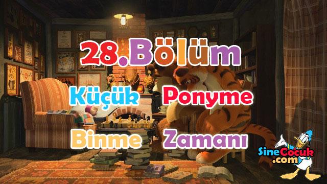 Maşa ile Koca Ayı: 28.Bölüm - Küçük Ponyye Binme Zamanı Türkçe Dublaj İzle