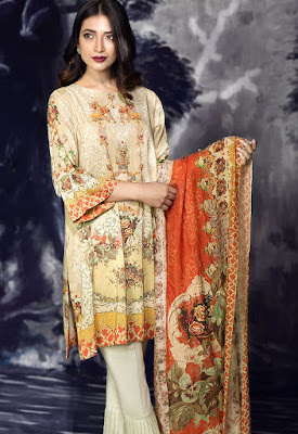 cross stitch winter linen khaddar dresses collection 2017 (9)
