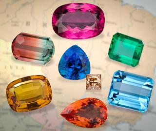 Penny Stock Journal: Gemstones of Minas Gerais, Brazil