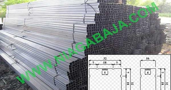 harga pasang atap baja ringan bogor hollow galvanis per batang mei 2019 | niaga