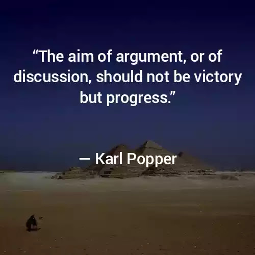 Karl Popper famous Quotes