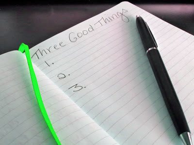 Three Good Things To Promote Happiness