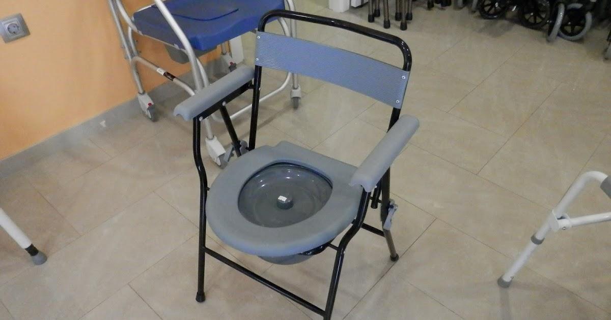 Silla con wc con reposabrazos y plegable ortopedia for W de porter ortopedia