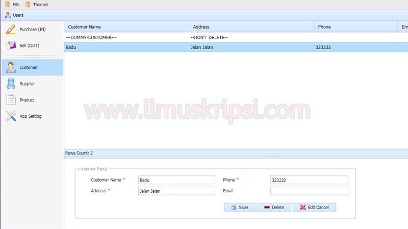 Source Code Aplikasi Point Of Sale  (POS) Gratis